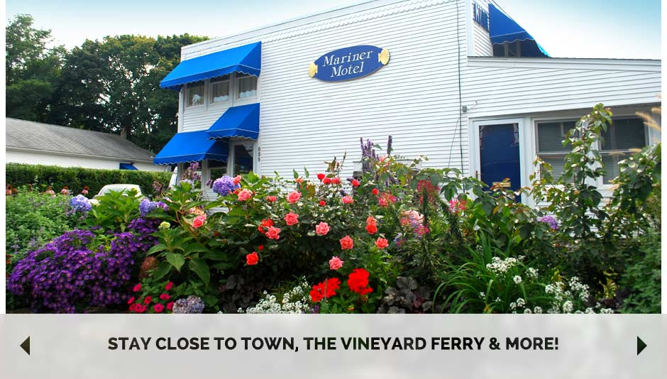Stay close to town, the Vineyard ferry & more!