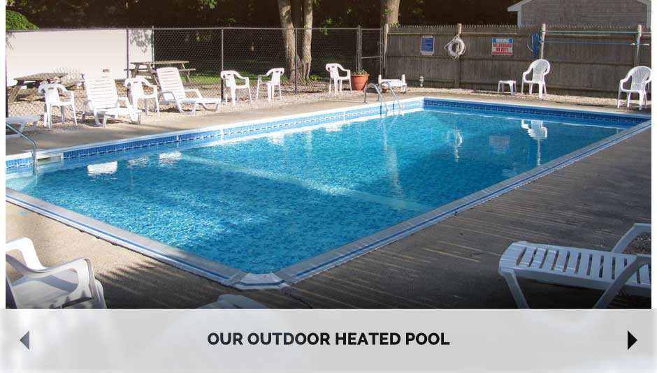 Our outdoor heated pool